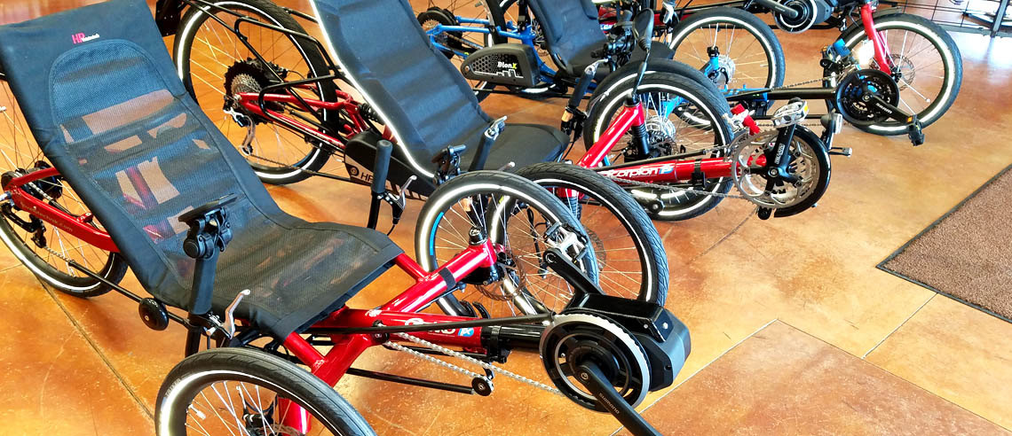 Try an Electric Assist Trike Today!